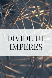 Couverture de Divide Ut Imperes