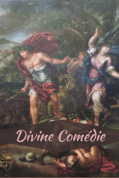 """Couverture de la nouvelle """"Divine Comédie"""""""